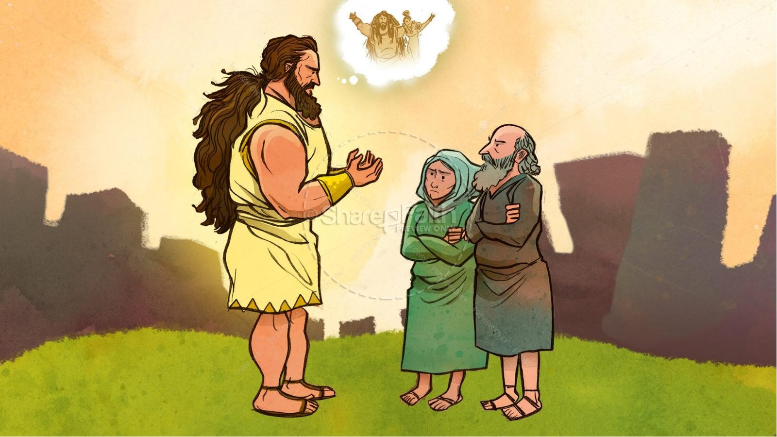Samson and Delilah Kids Bible Stories