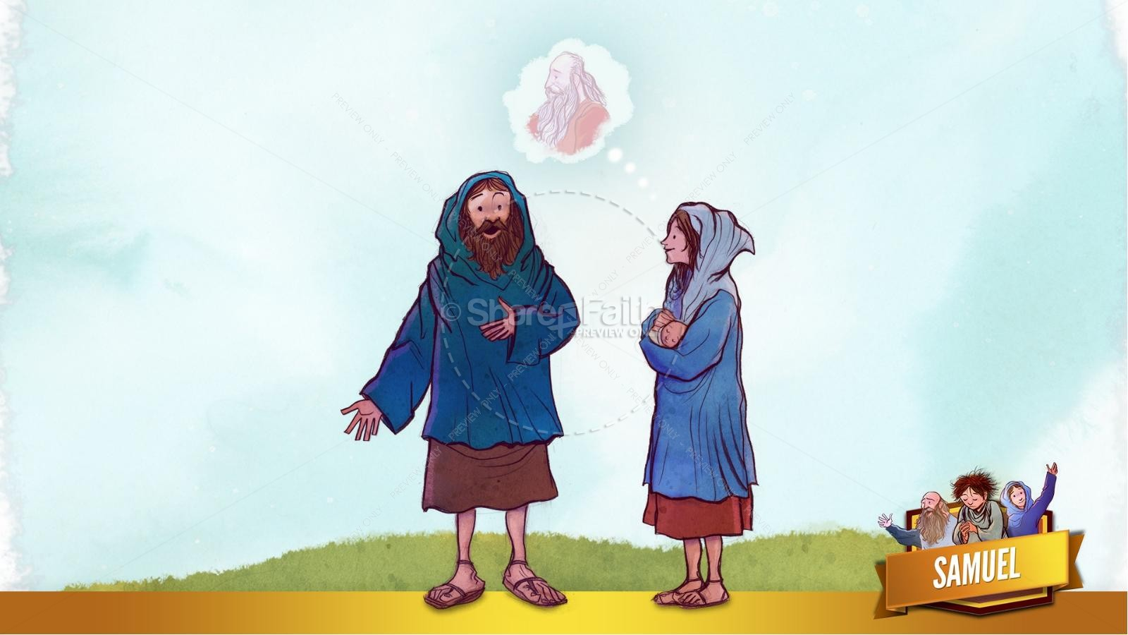 Samuel Bible Story For Kids