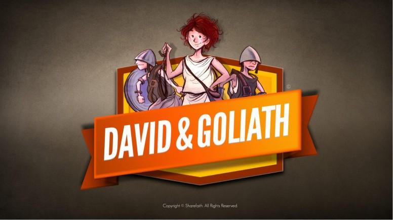 David and Goliath Kids Bible Story