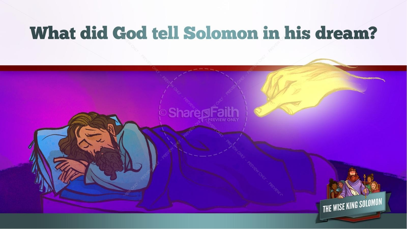 The Wisdom of Solomon Kids Bible Story Kids Bible Stories