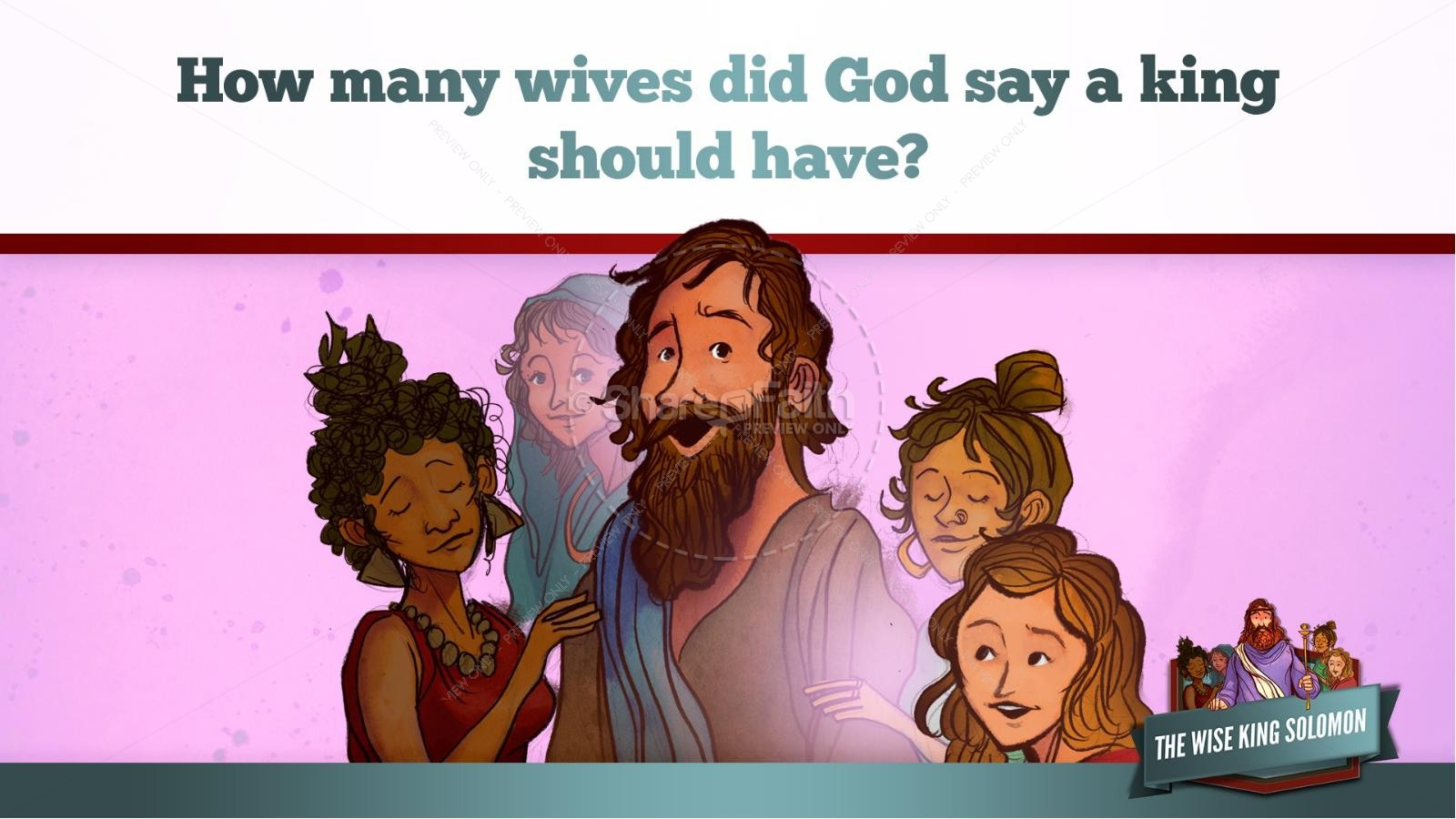 The Wisdom of Solomon Kids Bible Story