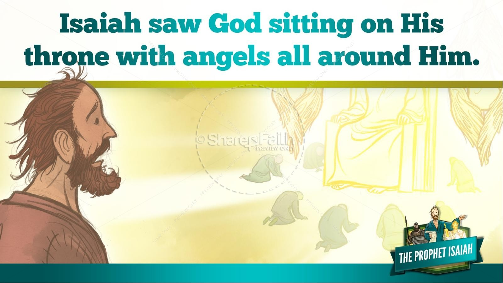 The Prophet Isaiah Kids Bible Story | slide 15