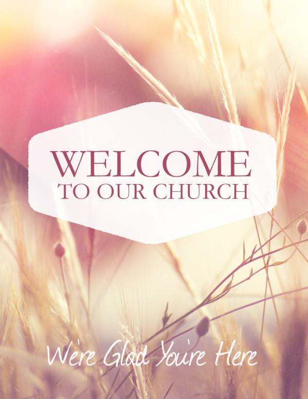 Authentic Faith Church Flyer