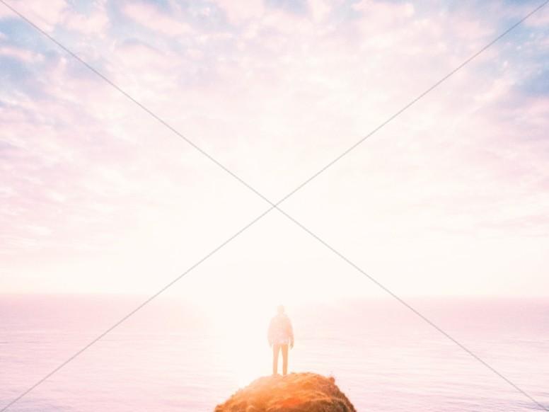 Let Go and Let God Faith Background