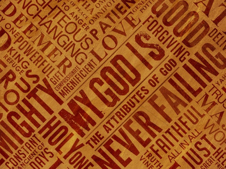 Attributes of God Christian Background
