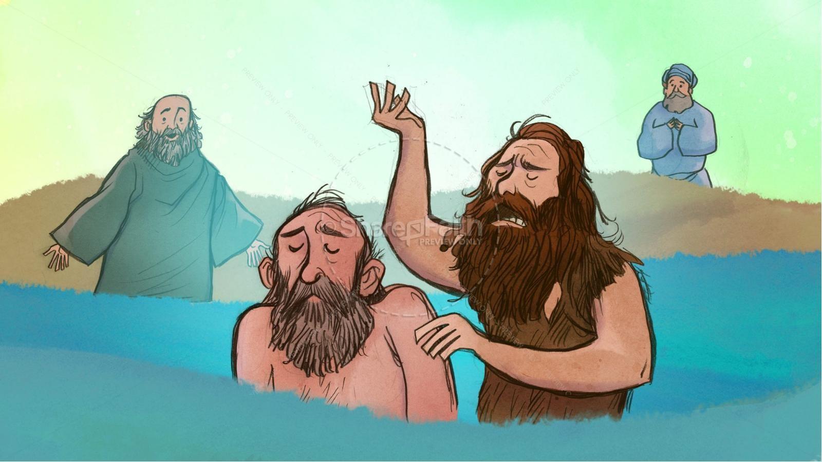 The Story Of John The Baptist For Kids