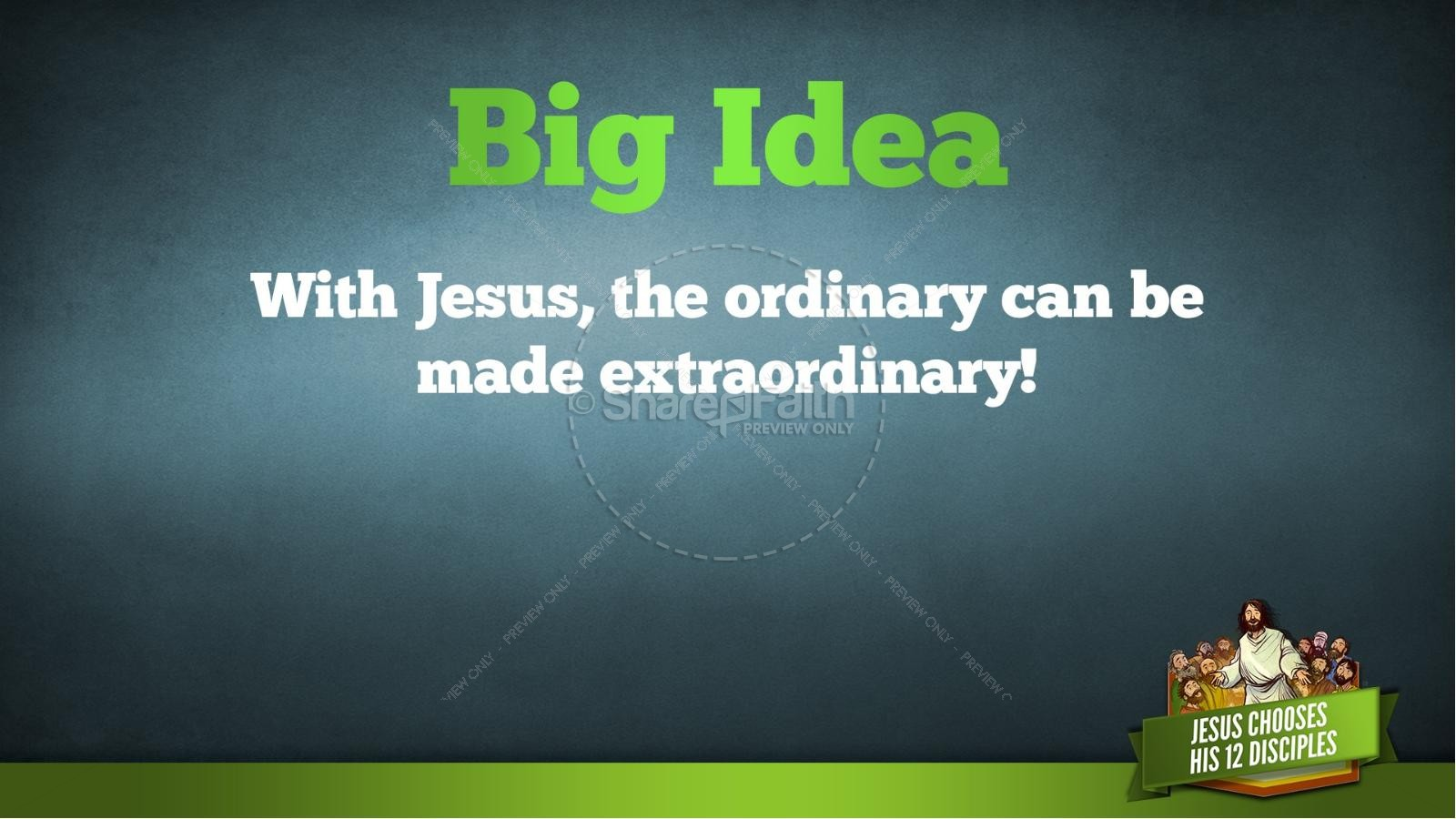 Jesus Chooses His 12 Disciples Kids Bible Story | slide 33