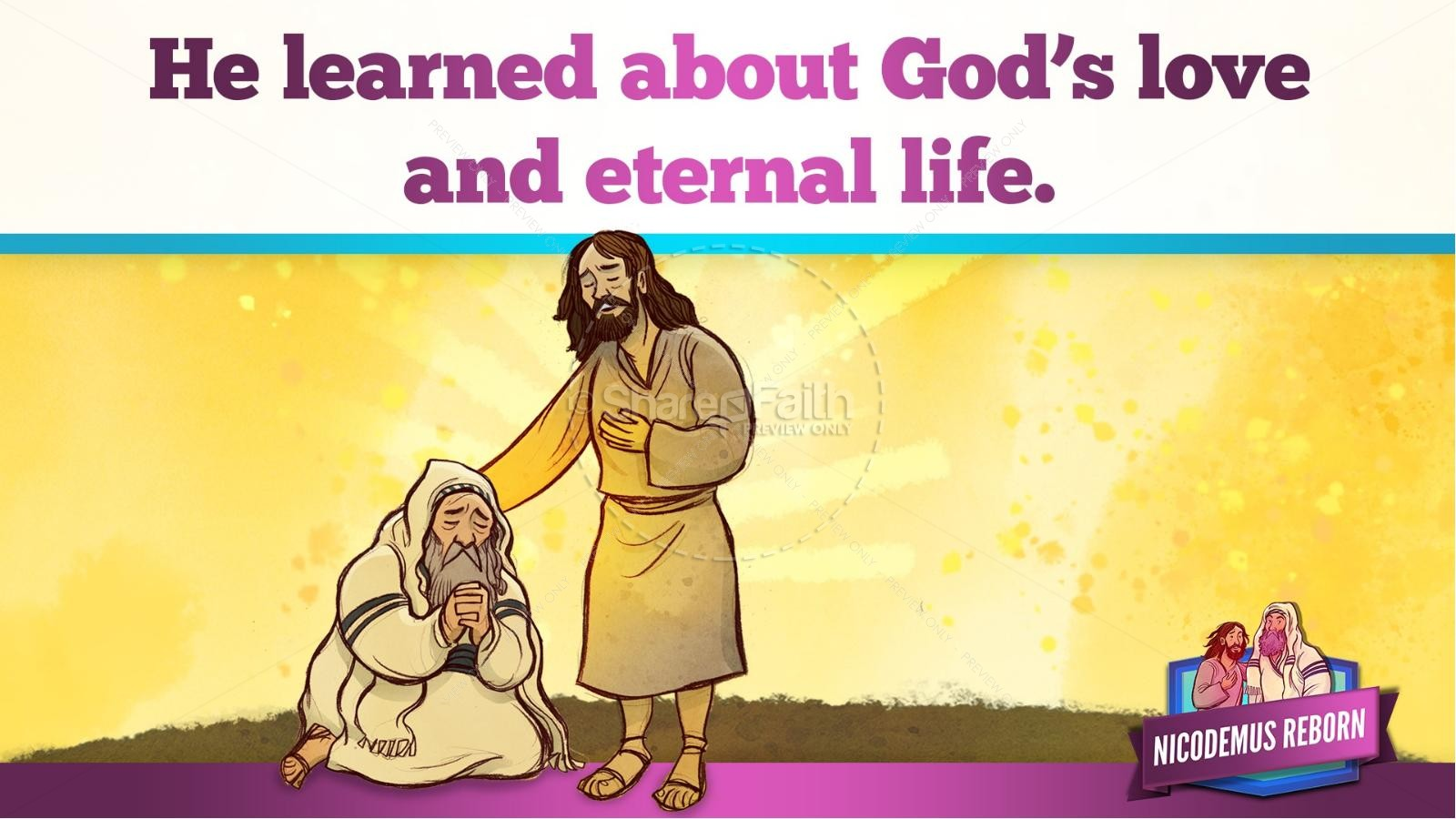 John 3 Nicodemus Bible Story for Kids