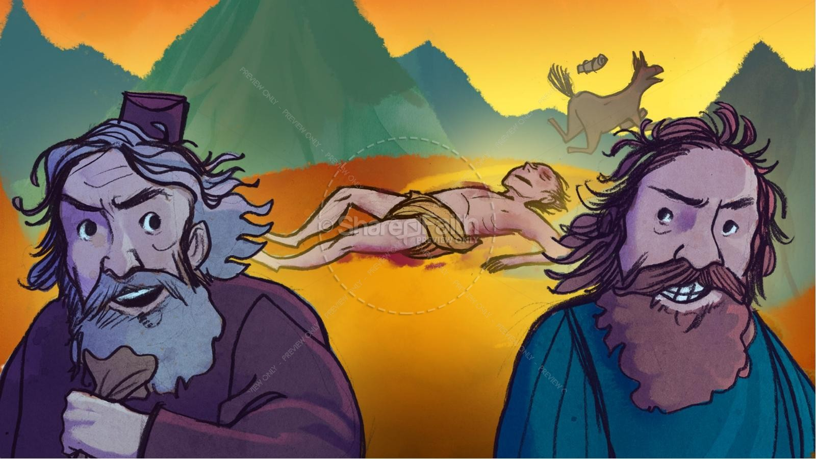 Ezekiel Bible Stories For Kids