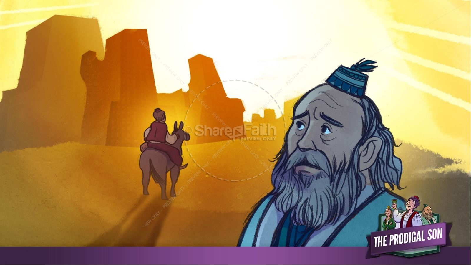 The Prodigal Son Kids Bible Story
