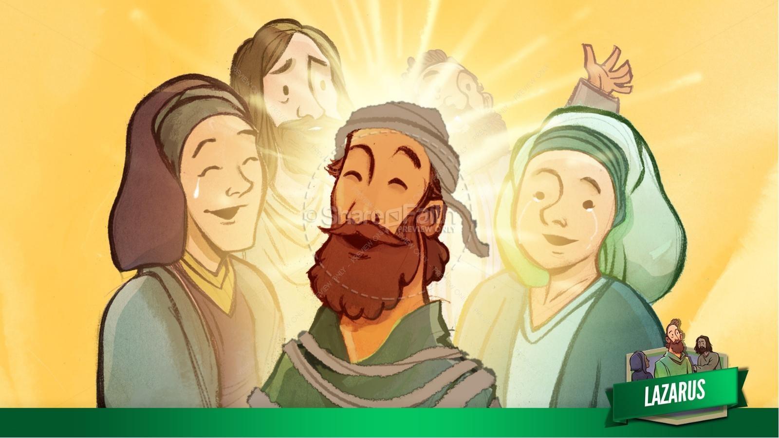 John 11 Lazarus Kids Bible Stories