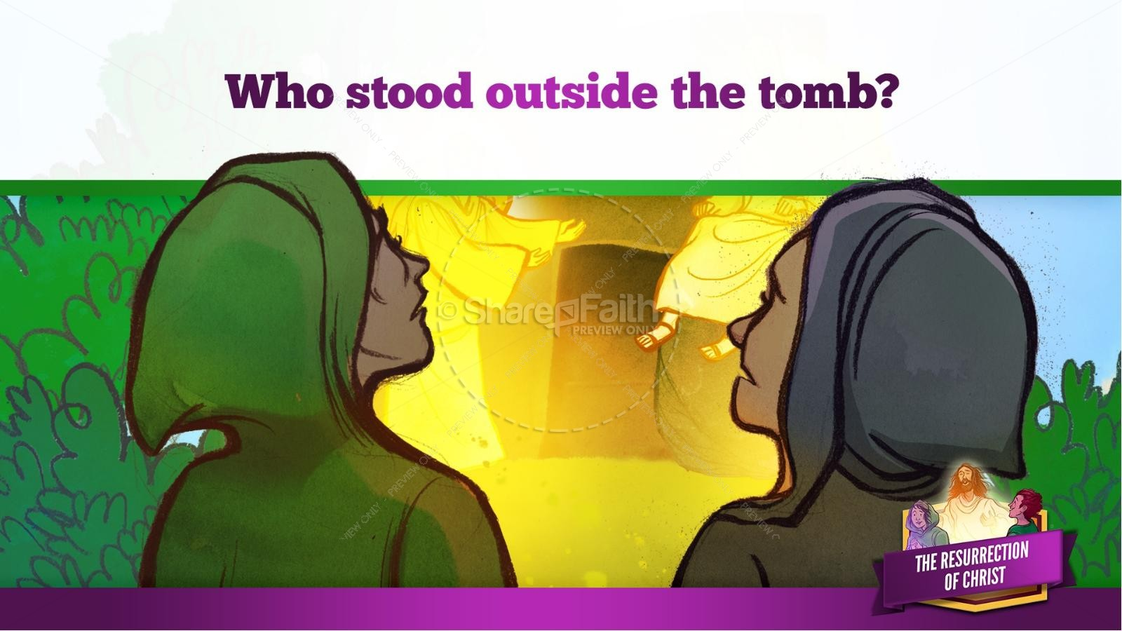 Jesus' Resurrection Kids Bible Story