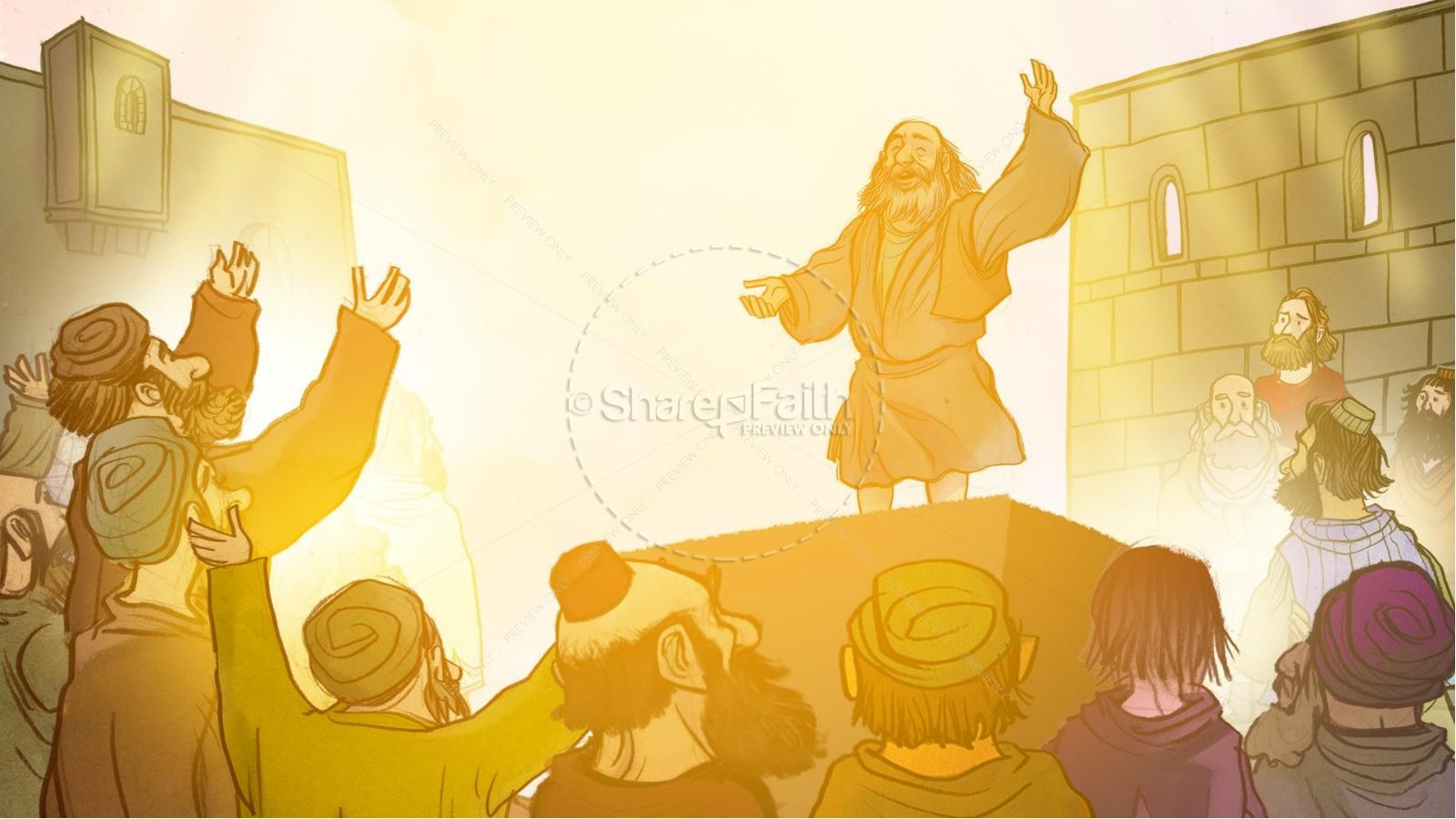 The Ascension and Pentecost Kids Bible Story