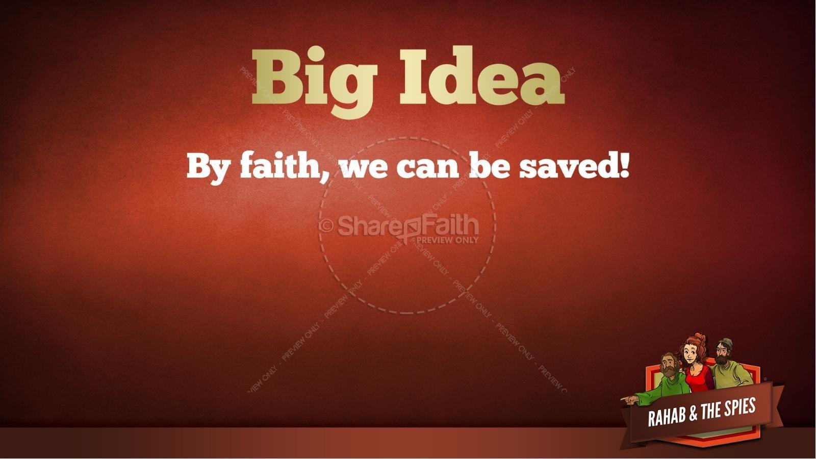 Joshua 2 The Story of Rahab Kids Bible Stories