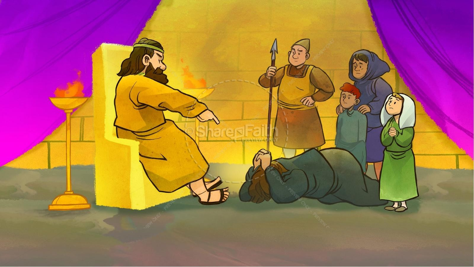 Matthew 18 The Parable of the Unforgiving Servant Kids Bible Story