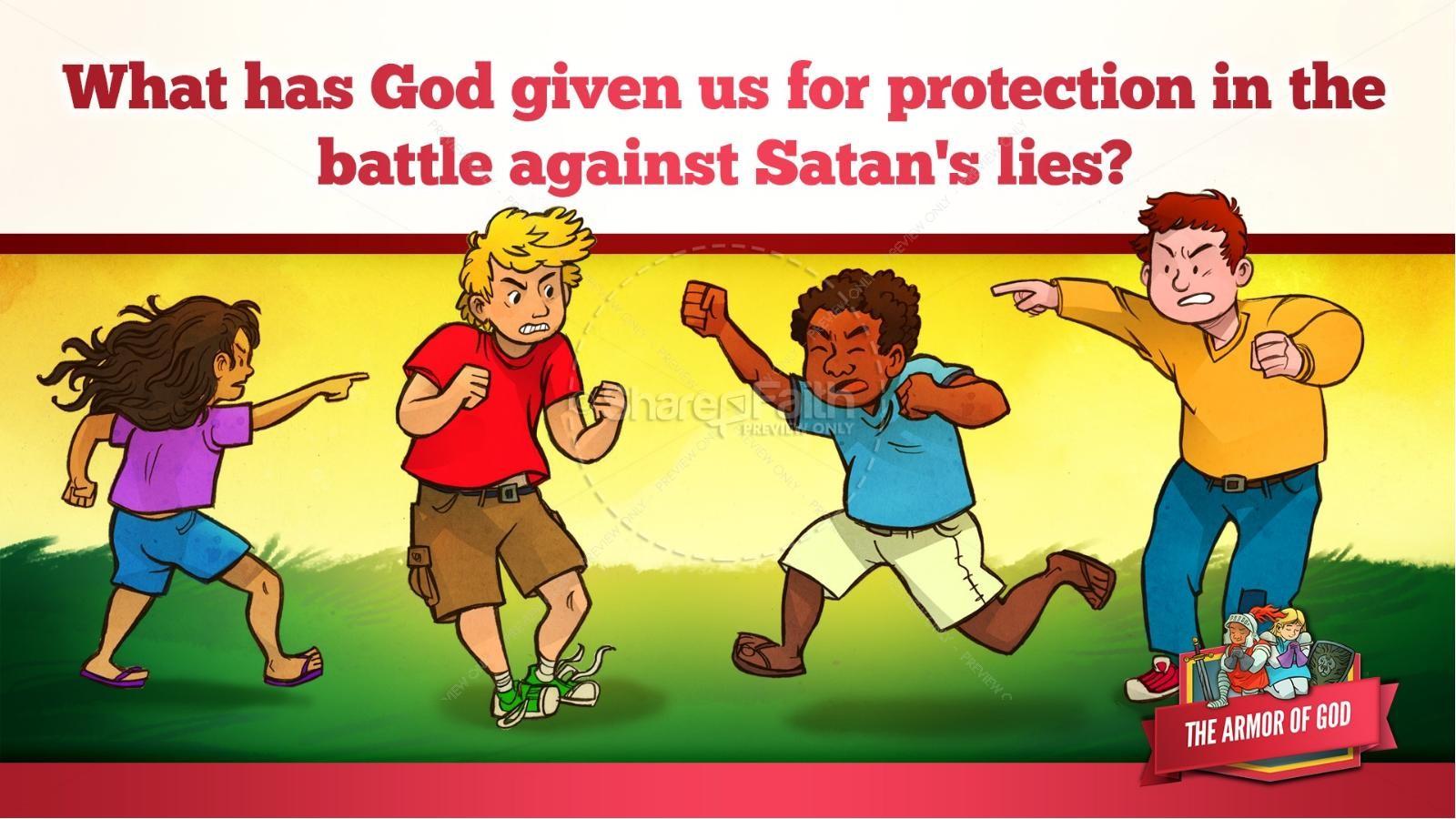 Ephesians 6 The Armor of God Kids Bible Story | slide 17