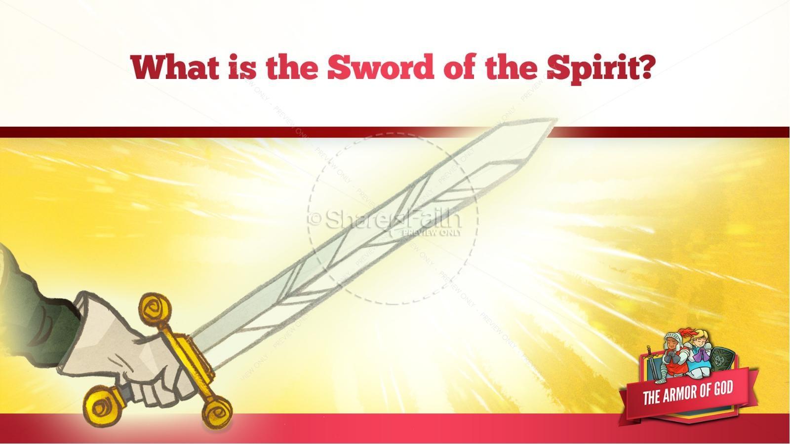 Ephesians 6 The Armor of God Kids Bible Story | slide 41