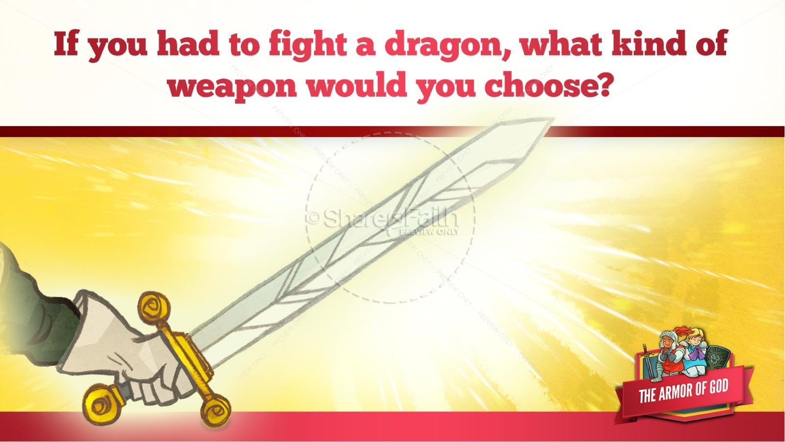 Ephesians 6 The Armor of God Kids Bible Story