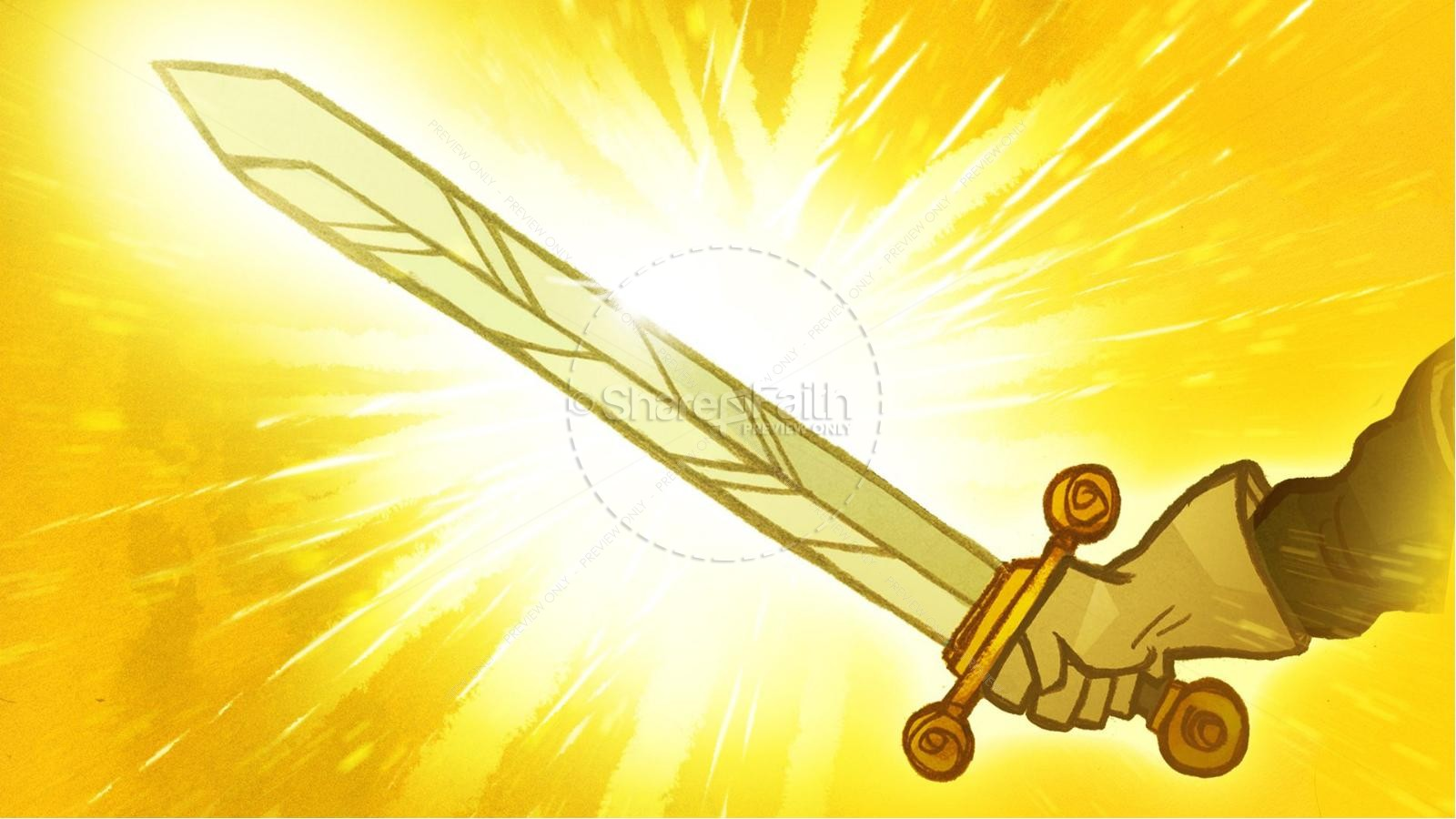 Ephesians 6 The Armor of God Kids Bible Story | slide 9