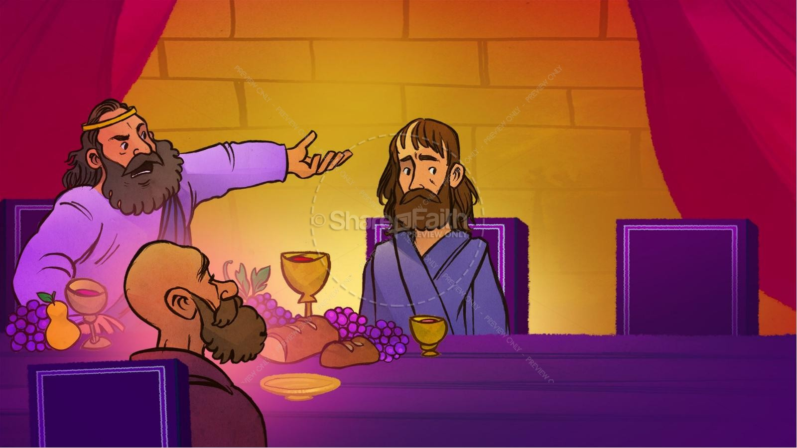 1 Samuel 20 David and Jonathan Kids Bible Story | Kids ...