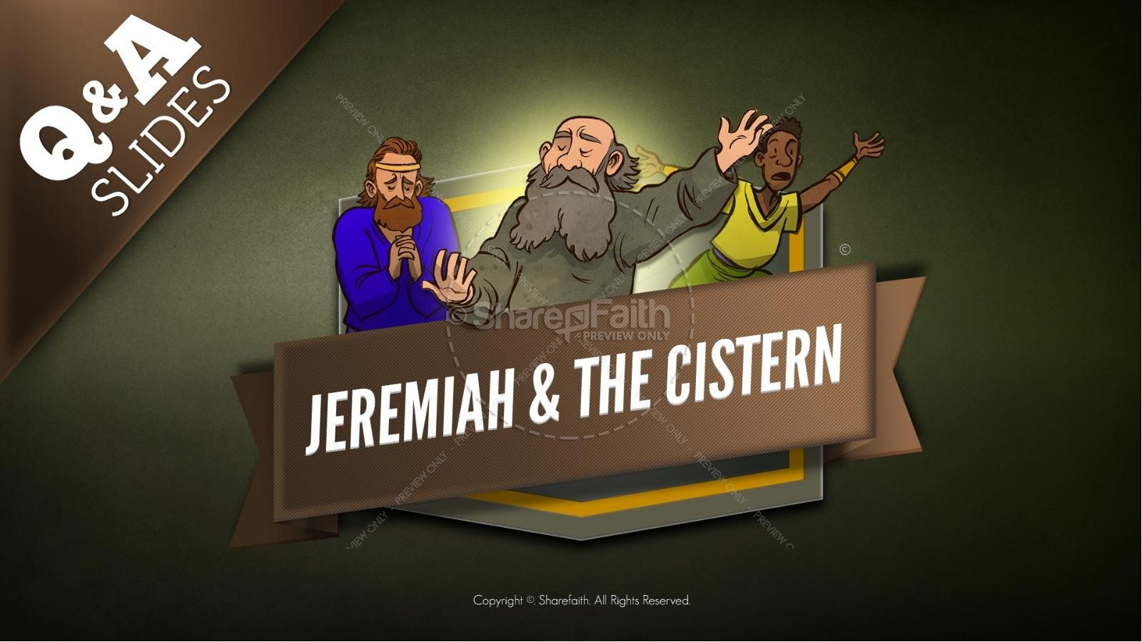 The Prophet Jeremiah Kids Bible Story