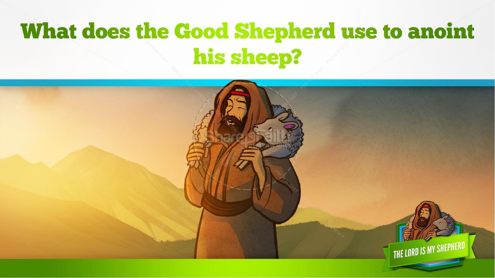 Psalm 23 The Lord Is My Shepherd Kids Bible Story