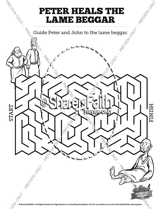 Bible Coloring Pages Peter And John - HERVE.HUSSON.COLORING ...