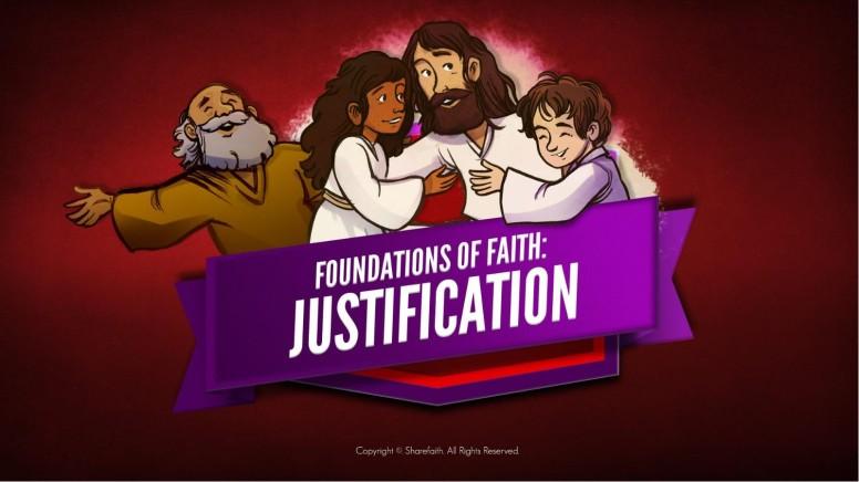 Romans 3 Justification Kids Bible Stories