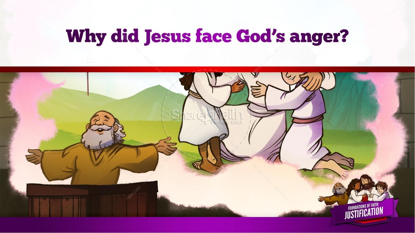 Romans 3 Justification Kids Bible Stories