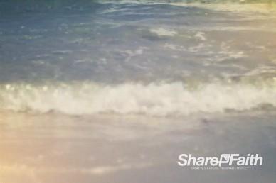 Ocean Beach Waves Christian Video Background Loop