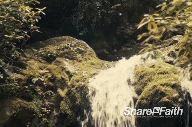 River Waterfall Background Video Loop
