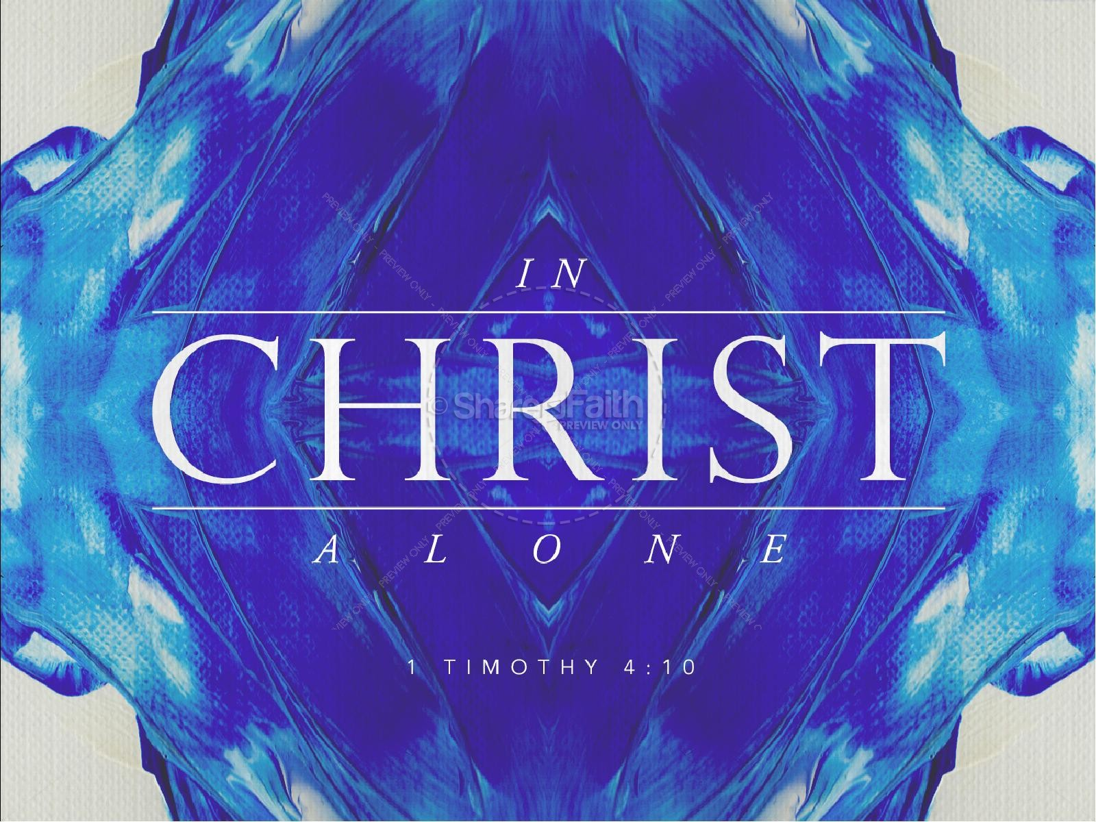 In Christ Alone Hope Christian