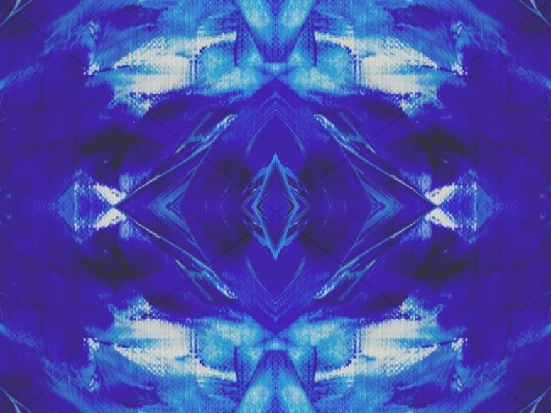 In Christ Alone Kaleidoscope Christian Background