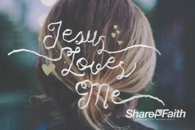 Jesus Loves Me Title Video Loop