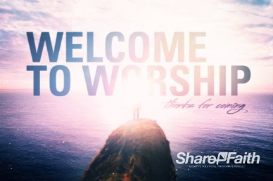 Let God Welcome Church Motion Loop