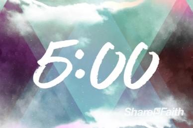 Worship Encounter 5 Minute Church Countdown Timer