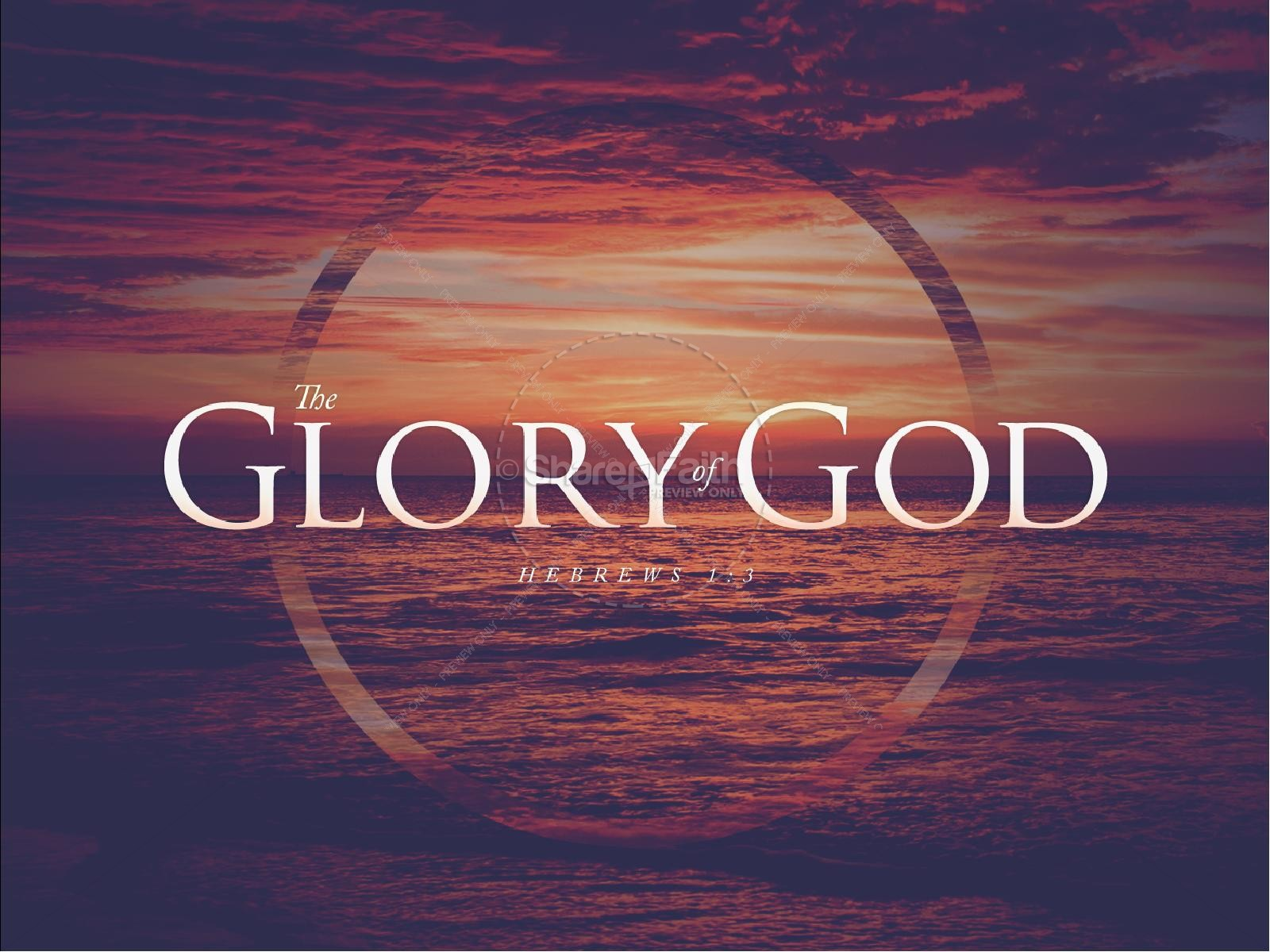 The Glory of God Church PowerPoint