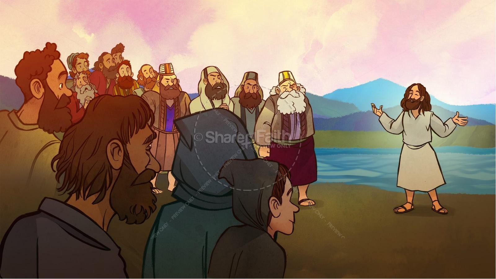 John 8 Light Of The World Kids Bible Story | slide 2