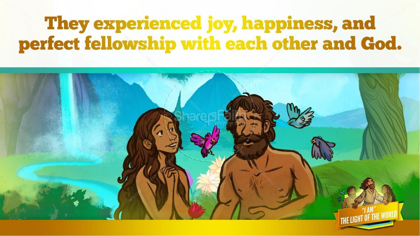 John 8 Light Of The World Kids Bible Story | slide 20
