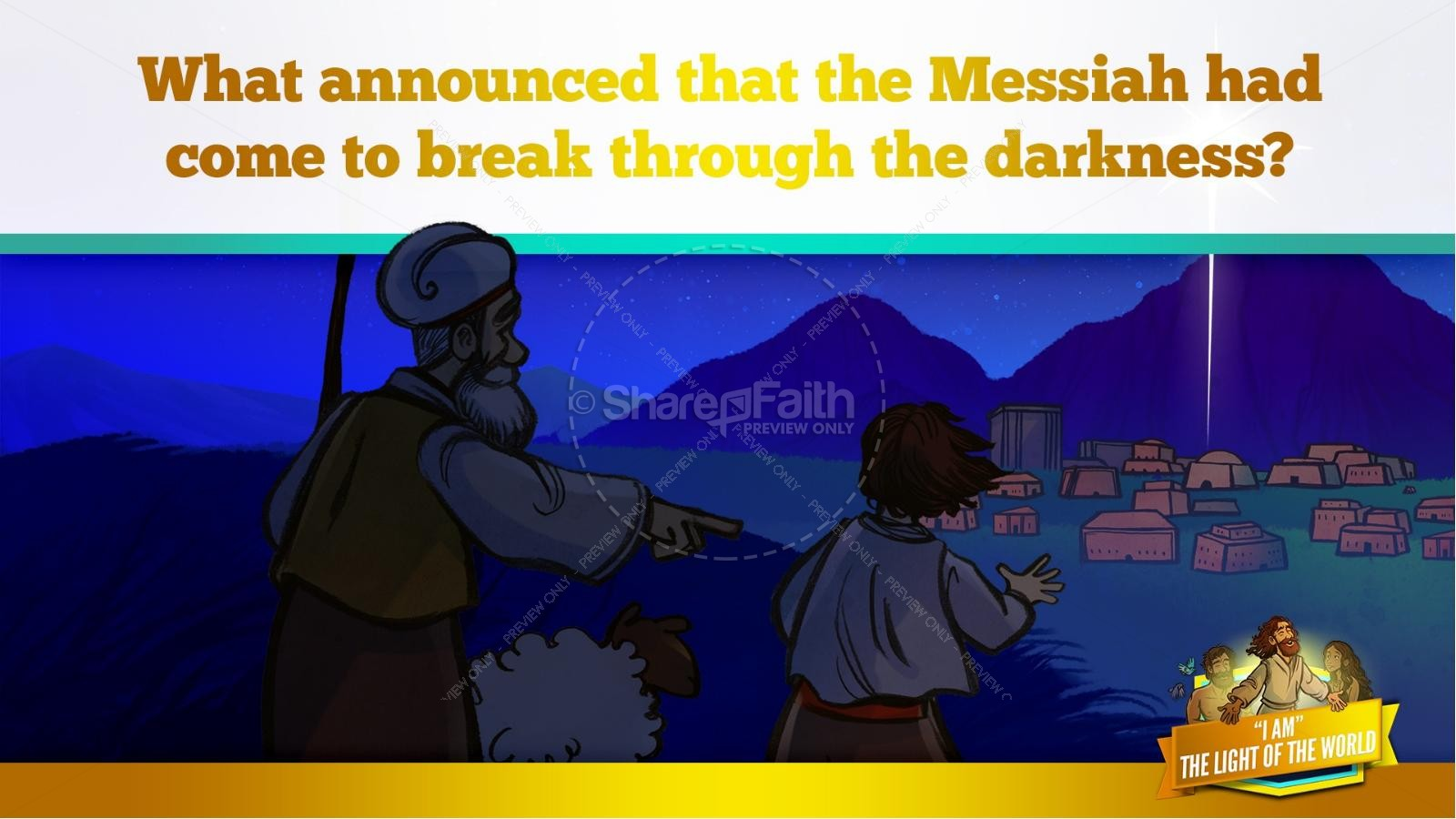 John 8 Light Of The World Kids Bible Story