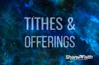 Space Galaxy Tithes and Offerings