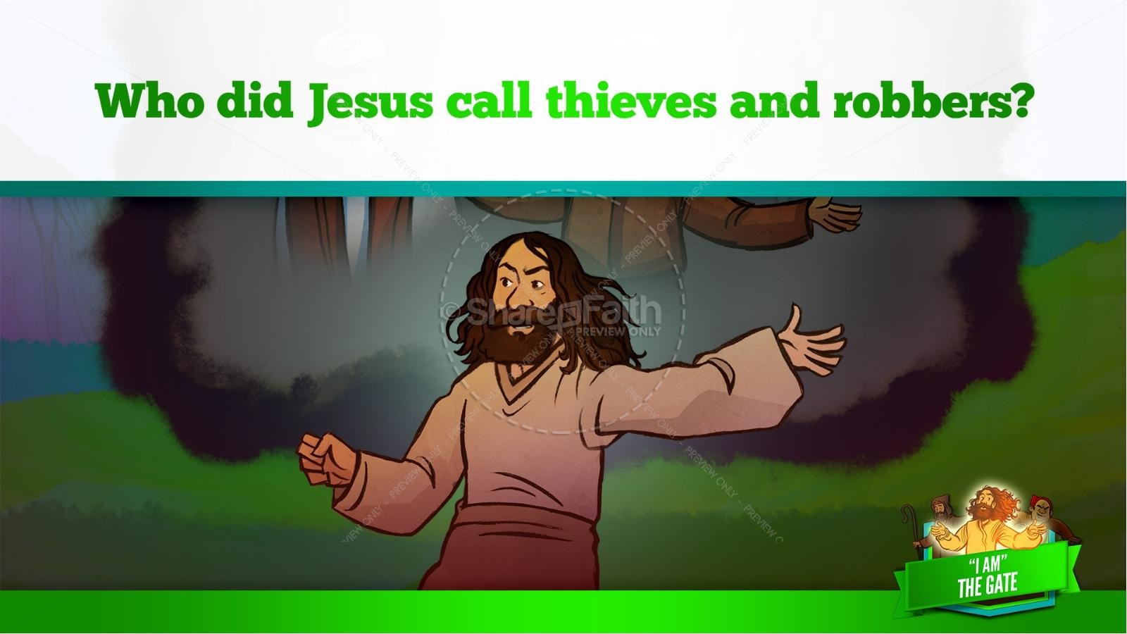 John 10 I am the Door Kids Bible Story