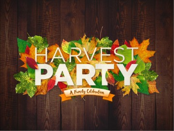 Fall Harvest Party Church Powerpoint Fall Thanksgiving