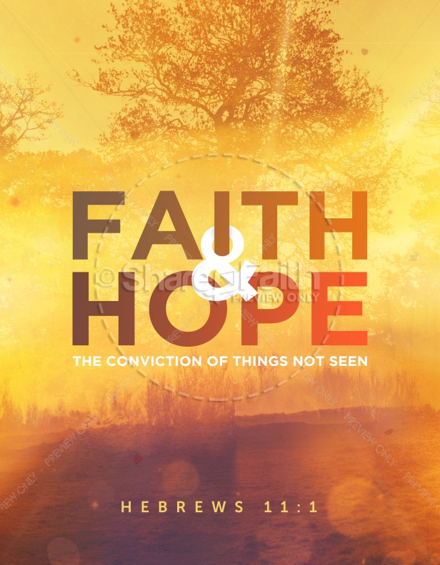 Faith and Hope Church Flyer