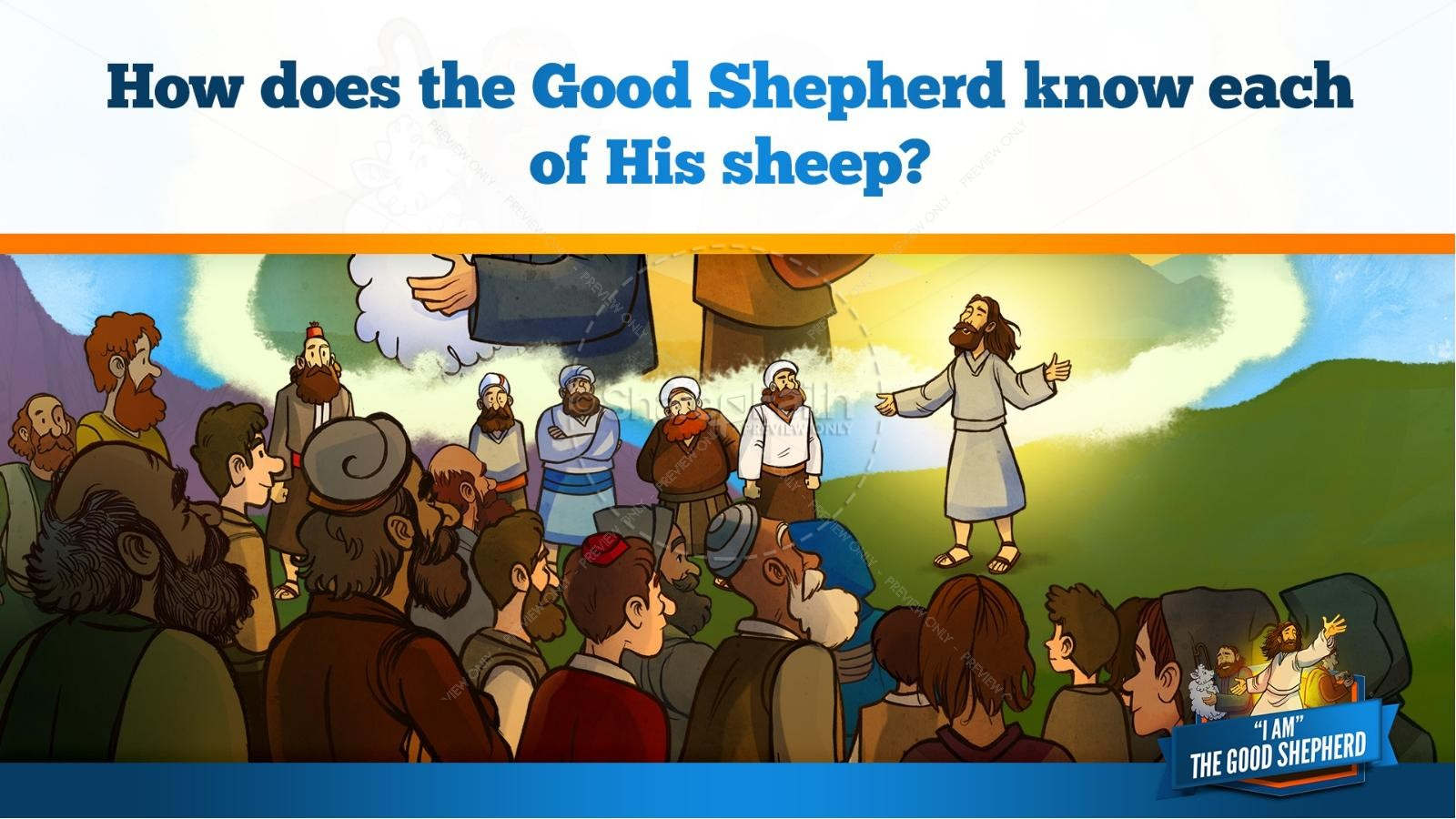 John 10 The Good Shepherd Kids Bible Stories