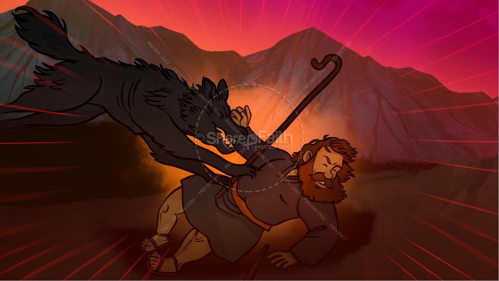 John 10 The Good Shepherd Kids Bible Stories