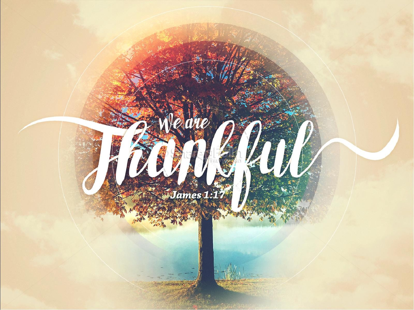 we are thankful fall powerpoint template