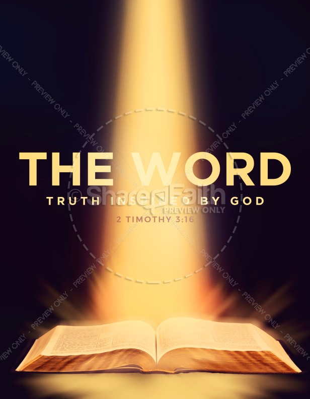 The Word of God Bible Church Flyer