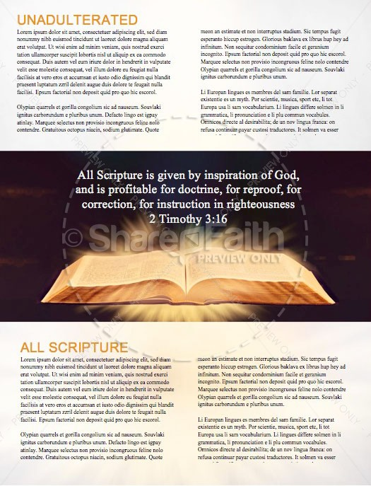 The Word of God Bible Church Newsletter | page 2