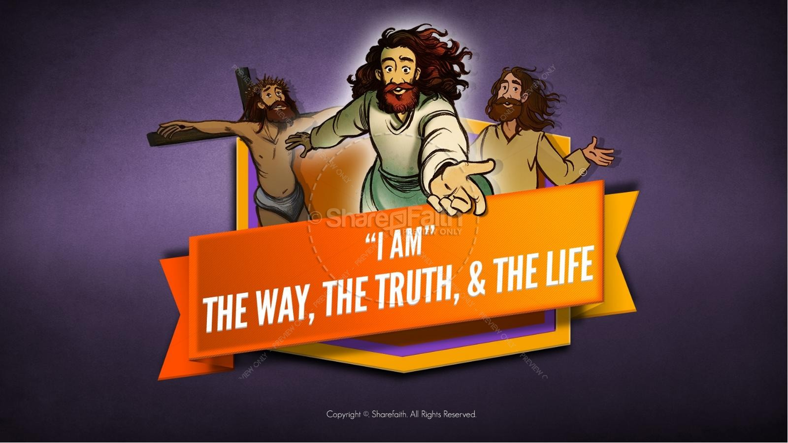 John 14 The Way the Truth and the Life Kids Bible Story